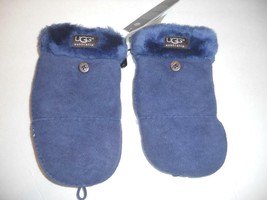 UGG ® Australia SHEARLING Convertable Mittens,Peacoat/Navy,L/XL, NWT - $103.05