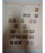 Lot of 24 Vintage Hungary Postage Stamps 1901-1919 - On Page - Make an O... - $11.93