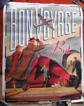 Bon Voyage Canadian Retro Poster Travel 28*22 Inch Government Of Canada Advisory - $39.50