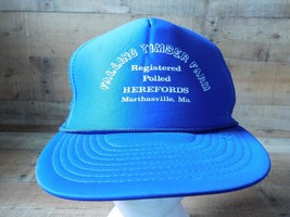 Falling Timber Farm Marthasville Mo Snapback Adjustable Adult Hat Cap - $14.25