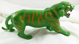 VINTAGE 1976 He-Man Masters of the Universe Battle Cat Green Tiger MATTEL - $14.84