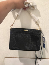 REBECCA MINKOFF WOMNEN'S BLACK MINI PACK CROSSBODY BAG HF34IPBX01 - $142.93