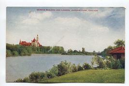 German Building and Lagoon Jackson Park Chicago - $2.39