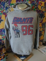 Vintage 80's New York Giants 1986 NFL Season Hoodie Sweatshirt L  - $59.39