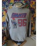Vintage 80's New York Giants 1986 NFL Season Hoodie Sweatshirt L  - $59.39