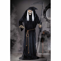 Halloween Lifesize Animated LUNGING REAPER ASSASSIN PROP Haunted House NEW - €156,86 EUR