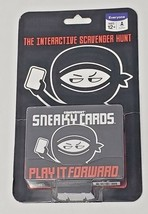 GameWright Sneaky Cards The Interactive Scavenger Hunt Play It Forward 1... - $9.98