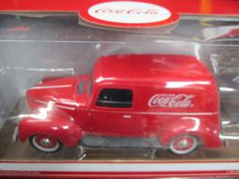Coca-Cola 1940 Delievery Panel Van MIB 1:18 scale