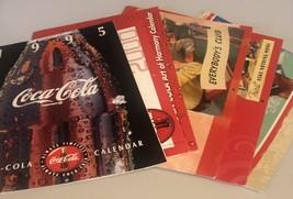 Lot Of 6 Coca Cola Calendars - $21.38