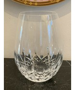 """Waterford Lismore Essence Stemless Red Wine Glass 5 3/8"""" High - $65.00"""