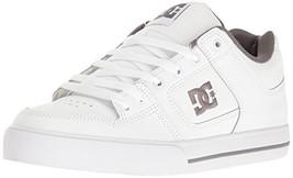 DC Men's Pure Action Sports Shoe, White/Battleship/White, 11 D M US - $63.95