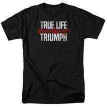 Bloodsport T-shirt True Life Triumph Retro 80's movie graphic tee MGM292 image 1