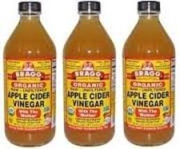 Bragg - Apple Cider Vinegar, 16 Oz 3 BTLS