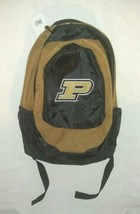 Purdue Boilermakers Backpack Stylish Old Gold NCAA  MAKE AN OFFER - ₹1,553.19 INR