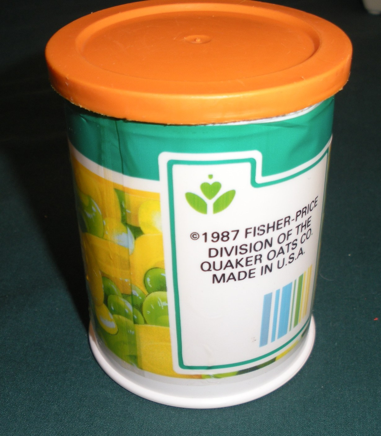 Vtg. Fisher Price Fun with Food #2112 Pop Top Can Opener VG-VG+ (H) (Rough Room) image 3