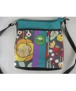 Lily Bloom Messenger Crossbody Bag Floral Multi Color - $19.79