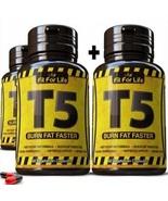 60 X T5 FAT BURNER CAPSULES STRONGEST LEGAL SLIMMING PILLS PURE DIET WEI... - $29.70