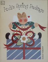 Andi's Spring Package By Andrea Lyness Folk Art Tole Painting Book Vgt 9... - $9.98