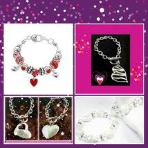 Valentine Charm Bracelets - $12.99+