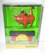 Lion King Puumba Tracks Stamper & Ink Pad Set Mint in Box - $4.95