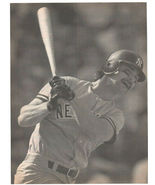New York Yankees Don Mattingly Hitting a Long One 1989 Pinup Photo 8X10 - $1.75
