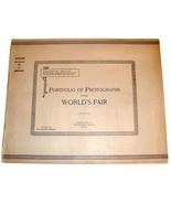 1892 Chicago World's Fair PORTFOLIO OF PHOTOGRAPHS Book #16 Columbia Exp... - $19.99