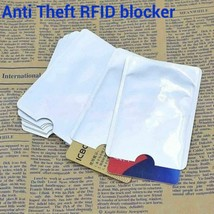 Anti Theft RFID Blocking Secure Sleeve Credit Card Holder Protector Case... - $1.56+