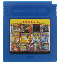 108 in 1 Video Game GameBoy Color Cartridge multicart compilatin 90th for 16 Bit - $25.47