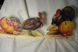 2 Bethany Lowe Thanksgiving Turkey Dummy Board image 1