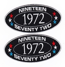 1972 SEW/IRON On Patch Embroidered Badge Emblem Chevrolet Ford Dodge Pontiac - $12.50
