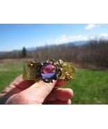 Antique Victorian 15 Kt. Gold Diamond and Amethyst Bracelet  C.1860    - $2,821.50