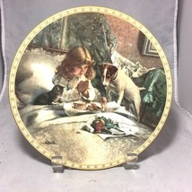 "Breakfast In Bed Victorian Childhood Royal Doulton 8 ¼"" bone china 1991... - $9.85"