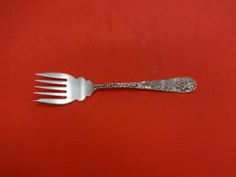 "Rose by Stieff Sterling Silver Dessert Fork 5-Tine 6"" - $129.00"