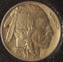 1917 Buffalo Nickel AU Details #0328 - $14.99