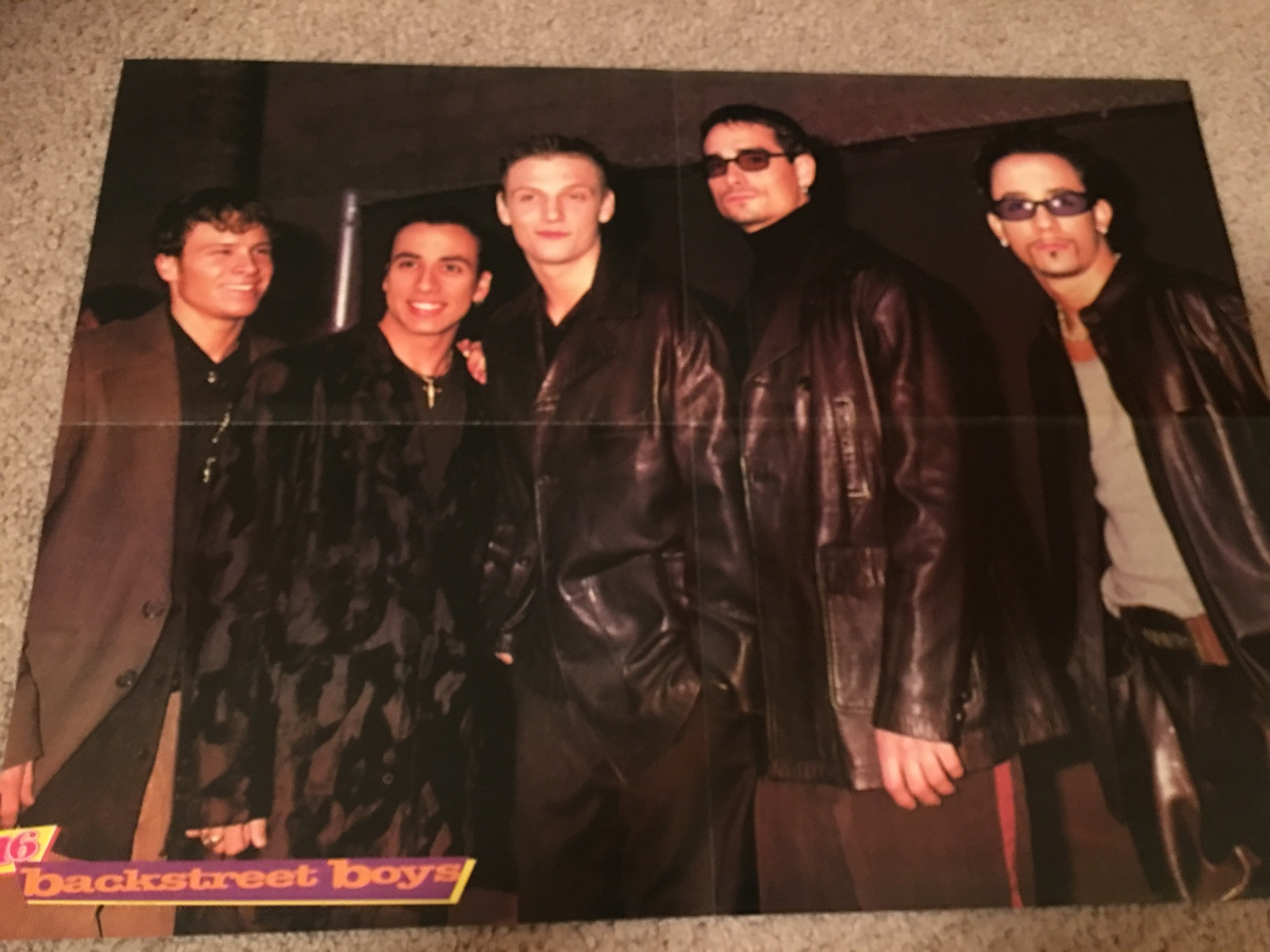 Primary image for Hanson Backstreet Boys teen magazine poster clipping MTV Awards Show