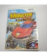 Monster 4X4: World Circuit Nintendo Wii Racing Video Game off-road truck... - $4.95
