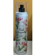 BBW White Barn Pink Honeysuckle Fine Fragrance Mist 8 oz *90% Full - $23.05