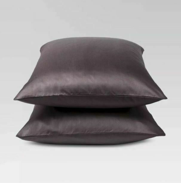 Threshold Performance King Pillowcases 400 TC Brown / River  sealed  STORE