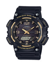Casio Men's 'Tough Solar' Quartz Stainless Steel and Resin Watch, Color:... - $49.78