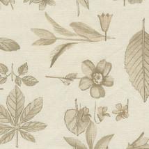 Genuine Longaberger Small Bin Basket Liner ~ Natural Botanical Fabric OE - $19.55