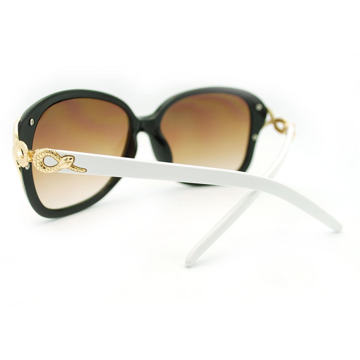 Womens Sunglasses Vintage Snake design Fashion Eyewear
