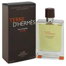 Terre D'hermes Eau Intense Vetiver by Hermes Eau De Parfum Spray 3.3 oz (Men) - $111.38