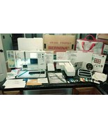 Bernina Artista 165 Sewing Machine Embroidery Module Hoops Case Accessories - $974.95