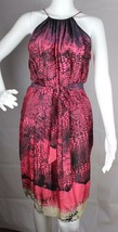 DKNY Jeans women's dress animal print sleeveless size M - $19.97