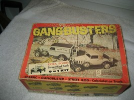 Vintage MPC Gangbusters 32 Chevy Cabriolet/Panel Truck Unused Model Car ... - $188.09