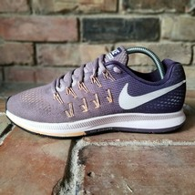 Nike Air Zoom Pegasus 33 Women's 9 Purple White Running Train Shoes 8313... - $46.72