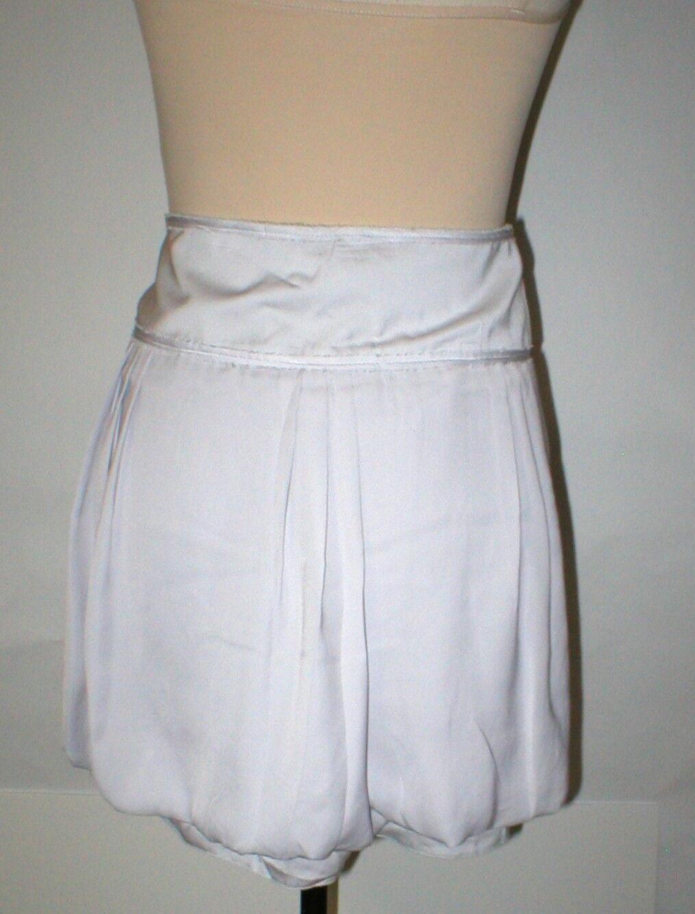 NEW Womens Gap Bubble $50 Skirt NWT 14 Mini Starlight Very light Grayish Purple image 11