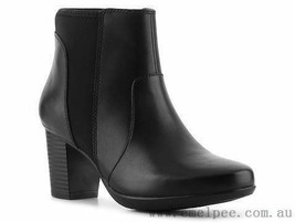 New Without Box! Clarks Promise Camp Bootie - Women's Shoes - Casual Boots - $127.97