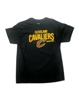 NBA Cleveland Cavaliers Basketball Men's Large Tee Shirt Black Cotton - £11.82 GBP