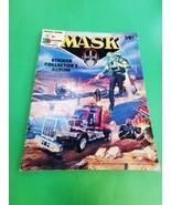 Mask Sticker Album Diamond 1995 14 Stickers on Pages QB - $26.95